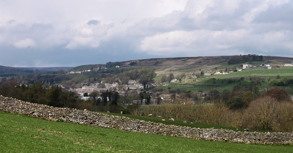 View over Stanhope